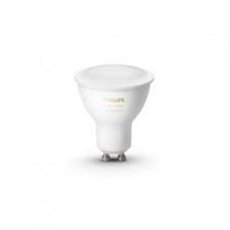 PHILIPS 8718699628673 | GU10 5,5W -> 50W Philips spot LED svetelný zdroj hue múdre osvetlenie 350lm 2200 <-> 6500K regulovateľná intenzita svetla, nastaviteľná farebná teplota, Bluetooth CRI>80