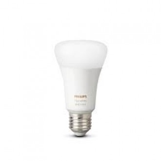 PHILIPS 8718699673109 | E27 9W -> 60W Philips normálne A60 LED svetelný zdroj hue múdre osvetlenie 806lm 2200 <-> 6500K regulovateľná intenzita svetla, meniace farbu, nastaviteľná farebná teplota, Bluetooth CRI>80