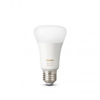 PHILIPS 8718699673147 | E27 8,5W -> 60W Philips normálne A60 LED svetelný zdroj hue múdre osvetlenie 806lm 2200 <-> 6500K regulovateľná intenzita svetla, nastaviteľná farebná teplota, Bluetooth CRI>80