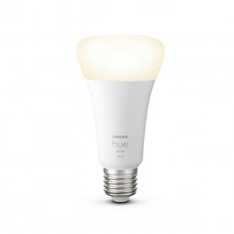 PHILIPS 8718699747992 | E27 15,5W -> 100W Philips normálne A67 LED svetelný zdroj hue múdre osvetlenie 1600lm 2700K regulovateľná intenzita svetla, Bluetooth CRI>80