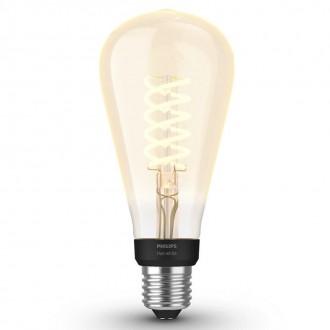 PHILIPS 8719514279179   E27 7W -> 40W Philips Edison ST72 LED svetelný zdroj hue múdre osvetlenie 550lm 2100K regulovateľná intenzita svetla, Bluetooth CRI>80