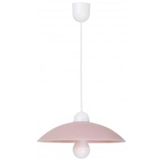 RABALUX 1409   Cupola-range Rabalux visiace svietidlo 1x E27 ružové, biela
