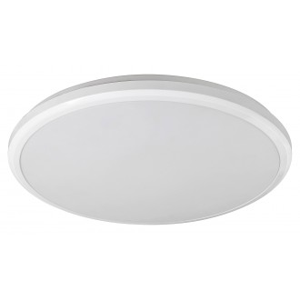 RABALUX 1429 | Brandon-RA Rabalux stenové, stropné svietidlo 1x LED 1500lm 4000K IP65 biela
