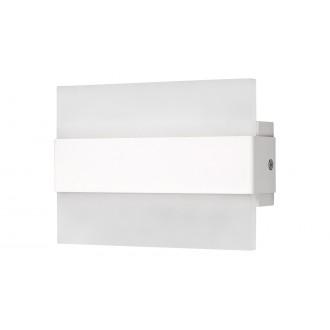 RABALUX 1439   Neville Rabalux stenové svietidlo obdĺžnik 1x LED 190lm 3000K matný biely