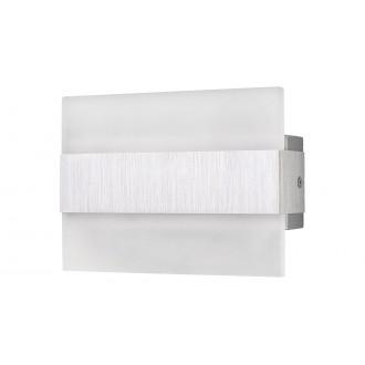 RABALUX 1440 | Neville Rabalux stenové svietidlo obdĺžnik 1x LED 180lm 3000K leštený hliník