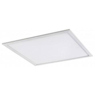 RABALUX 1457 | Bartek Rabalux stropné LED panel štvorec impulzový prepínač regulovateľná intenzita svetla 1x LED 1600lm 4000K biela