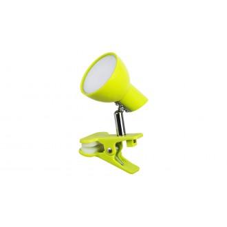 RABALUX 1481 | Noah Rabalux štipcové svietidlo prepínač na vedení otočné prvky 1x LED 360lm 3000K zelená