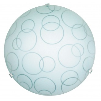 RABALUX 1843 | Ada Rabalux stenové, stropné svietidlo 1x E27 biela, priesvitná
