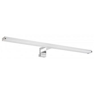 RABALUX 2115 | Levon-RA Rabalux rameno stenové, osvetleni zrkadla, osvetlenie nábytku svietidlo 1x LED 840lm 4000K IP44 chróm, biela