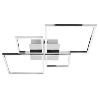 RABALUX 2186 | Azra Rabalux stropné svietidlo impulzový prepínač regulovateľná intenzita svetla 1x LED 3200lm 4000K chróm, biela