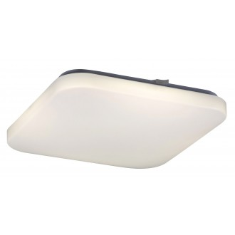 RABALUX 2287 | Rob Rabalux stropné svietidlo štvorec 1x LED 2600lm 4000K biela