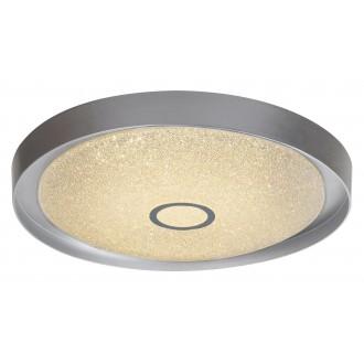 RABALUX 2297 | Skyler Rabalux stropné svietidlo diaľkový ovládač regulovateľná intenzita svetla, nastaviteľná farebná teplota 1x LED 1630lm 3000 - 4000 - 6000K chróm, kryštálový efekt