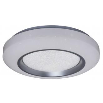 RABALUX 2298 | Taylor Rabalux stropné svietidlo diaľkový ovládač regulovateľná intenzita svetla, nastaviteľná farebná teplota 1x LED 2780lm 3000 - 4000 - 6000K biela, kryštálový efekt