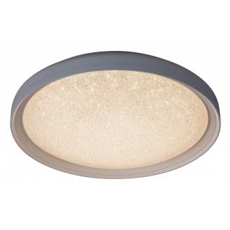 RABALUX 2299 | Esme Rabalux stropné svietidlo diaľkový ovládač regulovateľná intenzita svetla, nastaviteľná farebná teplota 1x LED 1680lm 3000 - 4000 - 6000K biela, lesklé