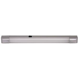 RABALUX 2307 | Band Rabalux osvetlenie pultu svietidlo prepínač 1x G13 / T8 950lm 2700K strieborný