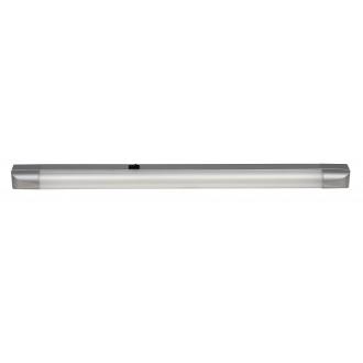RABALUX 2308 | Band Rabalux osvetlenie pultu svietidlo prepínač 1x G13 / T8 1350lm 2700K strieborný