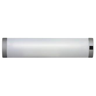 RABALUX 2328 | Soft Rabalux stenové svietidlo prepínač 1x G13 / T8 630lm 2700K strieborný