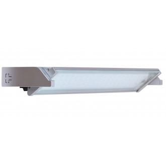 RABALUX 2367 | EasyLed Rabalux osvetlenie pultu svietidlo prepínač otočné prvky 1x LED 300lm 3000K strieborný