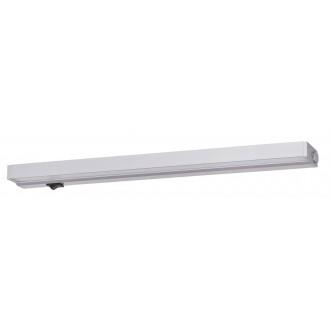 RABALUX 2369 | Belt-light Rabalux osvetlenie pultu svietidlo prepínač 1x LED 400lm 3000K strieborný