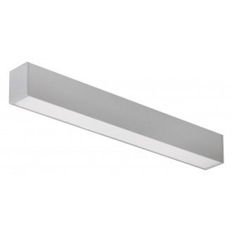 RABALUX 2419 | JoshuaR Rabalux stropné, visiace svietidlo 1x LED 2000lm 4000K strieborný, biela