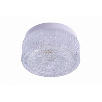 RABALUX 2435 | GraceR Rabalux stenové, stropné svietidlo 1x E27 biela, priesvitná