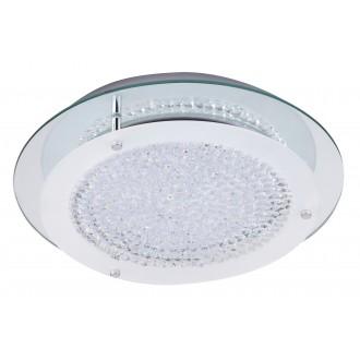 RABALUX 2447 | Marion Rabalux stropné svietidlo 1x LED 1620lm 4000K chróm, biela, priesvitné