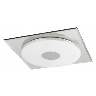 RABALUX 2489 | Toledo Rabalux stropné svietidlo 1x LED 1170lm 4000K chróm, biela, lesklé
