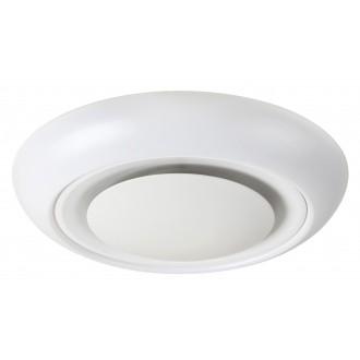 RABALUX 2492 | CalvinR Rabalux stropné svietidlo diaľkový ovládač regulovateľná intenzita svetla, nastaviteľná farebná teplota, meniace farbu 1x LED 1400lm + 1x LED 3000 <-> 6000K biela