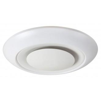 RABALUX 2493 | CalvinR Rabalux stropné svietidlo diaľkový ovládač regulovateľná intenzita svetla, nastaviteľná farebná teplota, meniace farbu 1x LED 1900lm + 1x LED 3000 <-> 6000K biela