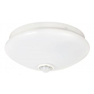 RABALUX 2499 | Seth Rabalux stenové, stropné svietidlo pohybový senzor 1x LED 520lm 4000K biela