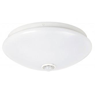 RABALUX 2500 | Seth Rabalux stenové, stropné svietidlo pohybový senzor 1x LED 780lm 4000K biela