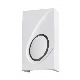 RABALUX 2519 | Gia Rabalux stenové svietidlo maľovateľná plocha 1x E14 biela
