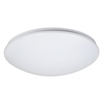 RABALUX 2636 | OllieR Rabalux stropné svietidlo diaľkový ovládač regulovateľná intenzita svetla, nastaviteľná farebná teplota 1x LED 3100lm 2700 <-> 6500K biela