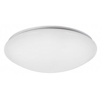 RABALUX 2637 | OllieR Rabalux stropné svietidlo diaľkový ovládač regulovateľná intenzita svetla, nastaviteľná farebná teplota 1x LED 5900lm 2700 <-> 6500K biela, lesklé