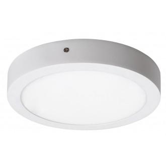 RABALUX 2656 | Lois Rabalux stenové, stropné LED panel kruhový 1x LED 1400lm 4000K matný biely, biela