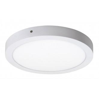 RABALUX 2657 | Lois Rabalux stenové, stropné LED panel kruhový 1x LED 1700lm 4000K matný biely, biela