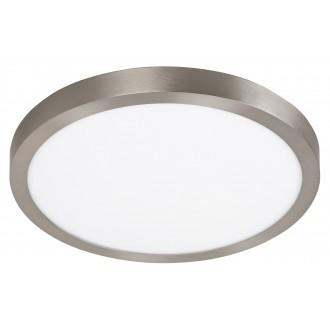 RABALUX 2662 | Lois Rabalux stenové, stropné LED panel kruhový 1x LED 2500lm 3000K satén chróm, biela