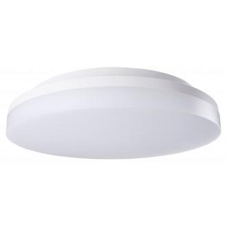 RABALUX 2699 | Zenon Rabalux stropné svietidlo kruhový pohybový senzor nastaviteľná farebná teplota 1x LED 1800lm 3000 - 4000 - 6000K IP54 IK08 biela