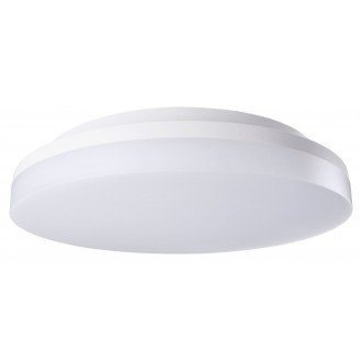 RABALUX 2700 | Zenon Rabalux stropné svietidlo kruhový pohybový senzor nastaviteľná farebná teplota 1x LED 2400lm 3000 - 4000 - 6000K IP54 IK08 biela