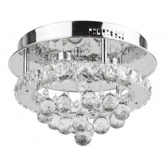 RABALUX 2734 | Asley Rabalux stropné svietidlo 1x LED 2100lm 3500K chróm, priesvitné