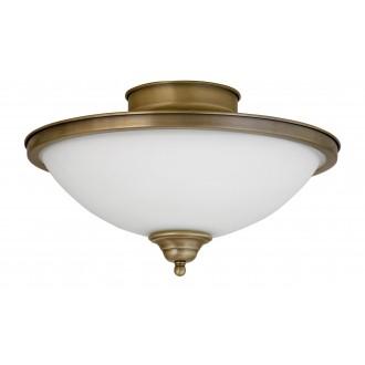 RABALUX 2759 | Elisett Rabalux stropné svietidlo 2x E14 bronzová, biela