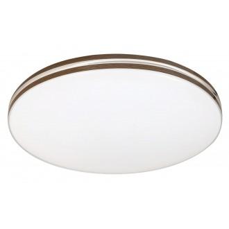 RABALUX 2763 | Oscar-RA Rabalux stropné svietidlo 1x LED 1350lm 4000K biela, orech