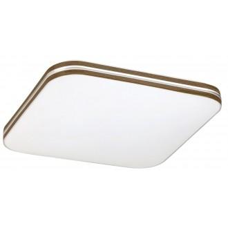 RABALUX 2764 | Oscar-RA Rabalux stropné svietidlo 1x LED 1350lm 4000K biela, orech