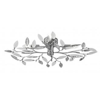 RABALUX 2839 | Lilian Rabalux stropné svietidlo 4x E14 chróm, biela