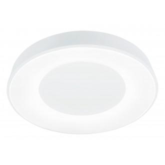 RABALUX 3083 | Ceilo Rabalux stropné svietidlo kruhový diaľkový ovládač regulovateľná intenzita svetla, nastaviteľná farebná teplota, časový spínač, nočné svetlo, háttérvilágítás 1x LED 3200lm 3000 <-> 6500K biela