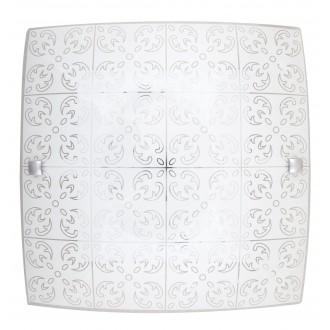 RABALUX 3329   Fleur-RA Rabalux stenové, stropné svietidlo štvorec 1x LED 960lm 3000K biela, vzorka