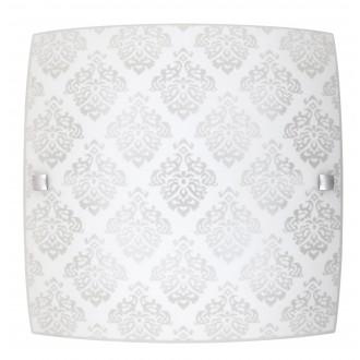 RABALUX 3330 | Fleur-RA Rabalux stenové, stropné svietidlo štvorec 1x LED 1440lm 3000K biela, vzorka