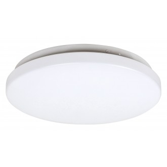 RABALUX 3338 | Rob-RA Rabalux stropné svietidlo kruhový 1x LED 1400lm 3000K biela