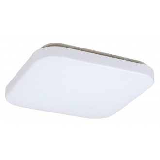 RABALUX 3340 | Rob-RA Rabalux stropné svietidlo štvorec 1x LED 1400lm 3000K biela