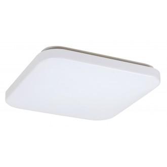 RABALUX 3344 | Rob-RA Rabalux stropné svietidlo štvorec 1x LED 2100lm 3000K biela